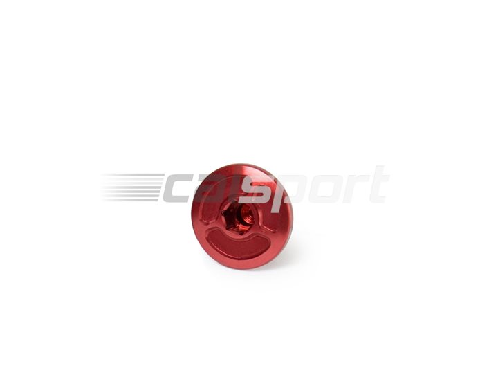 053RD228200 - Yoshimura - Engine Plug - Small - Red