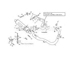 110-351-8250 - Full System Titanium Headers Stainless Silencer Fixed Baffle