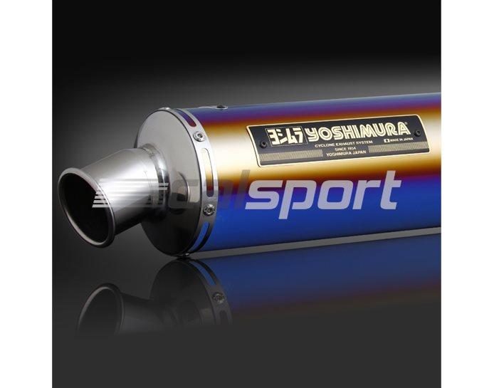 110-445-5482B - Slip-On Polished Titanium Blue Sleeve