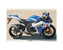 1104272 - Yoshimura Carbon TRC Tri-Oval Slip On (Carbon Coned End Cap) RACE (Removable Baffle)