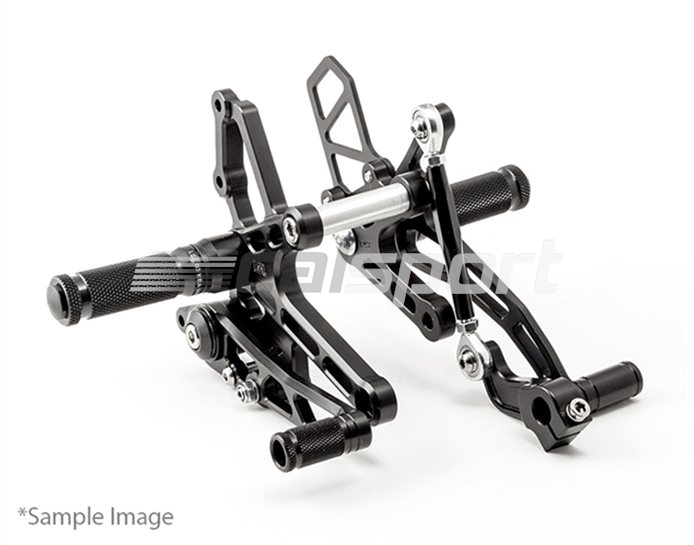 110K137LBSW - LSL RearSets Low, Black