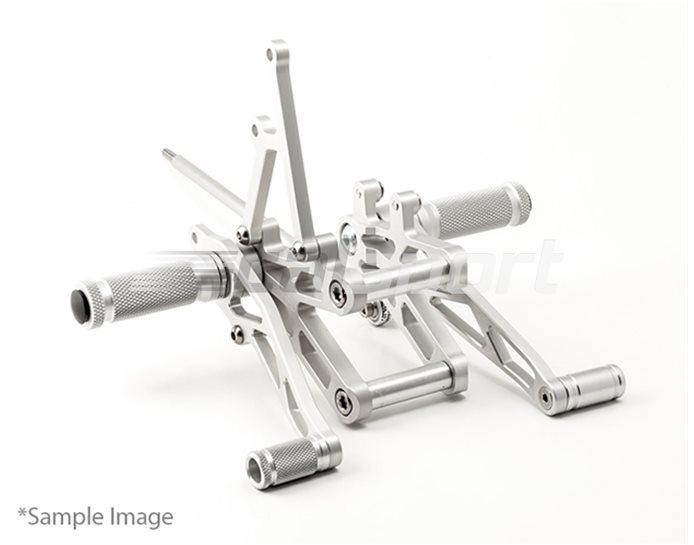 110K137 - LSL RearSets, Silver