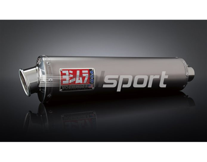 1112057 - Yoshimura Titanium RS-3 Full System - Stainless Header - Race (Removeable Baffle)