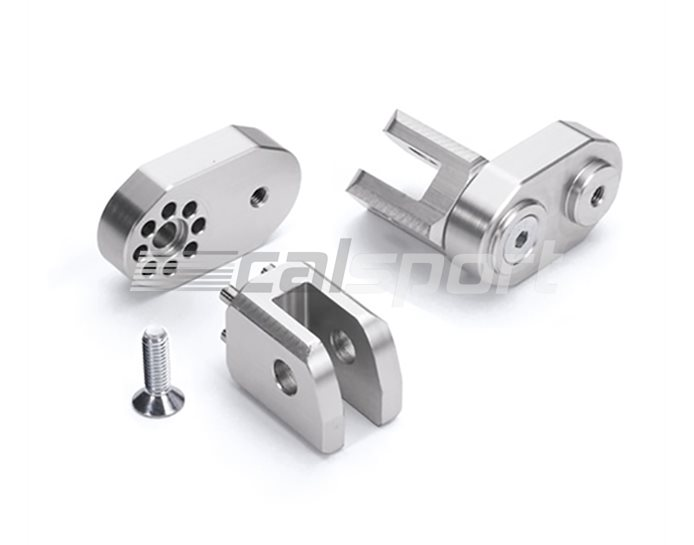 114-B08 - LSL Pillion Adjustable Folding Joints - For Use With LSL Footpegs