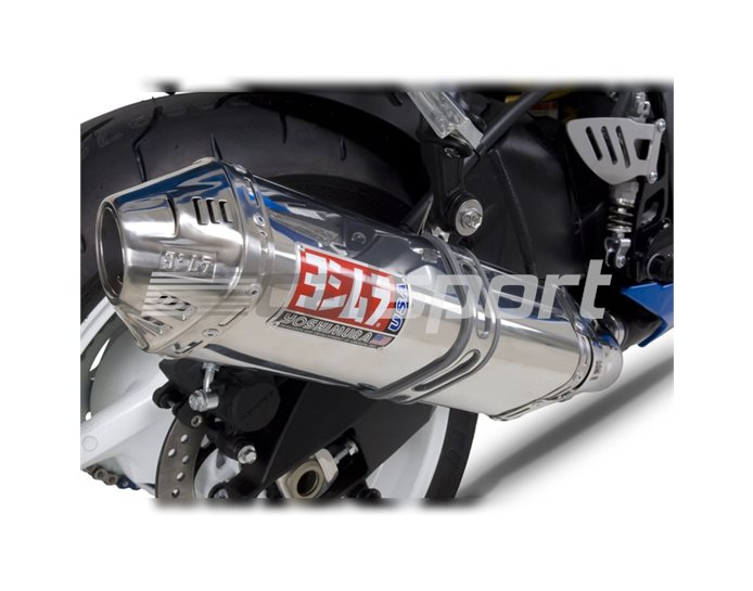 1170275 - Yoshimura Stainless TRC Tri-Oval Slip On (Stainless Coned End Cap) RACE (Removable Baffle)