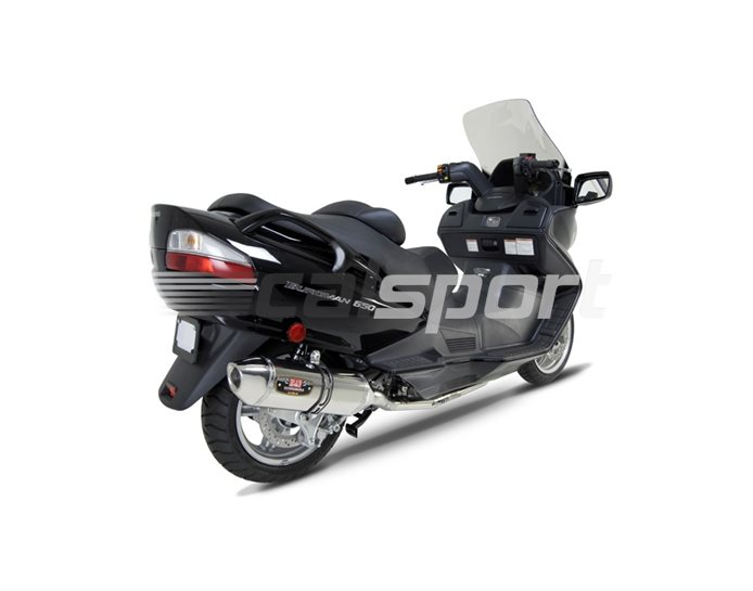 1190006 - Yoshimura Stainless R-77 Full System - Stainless Headers - Stainless End Cap - Race (Removable Baffle)
