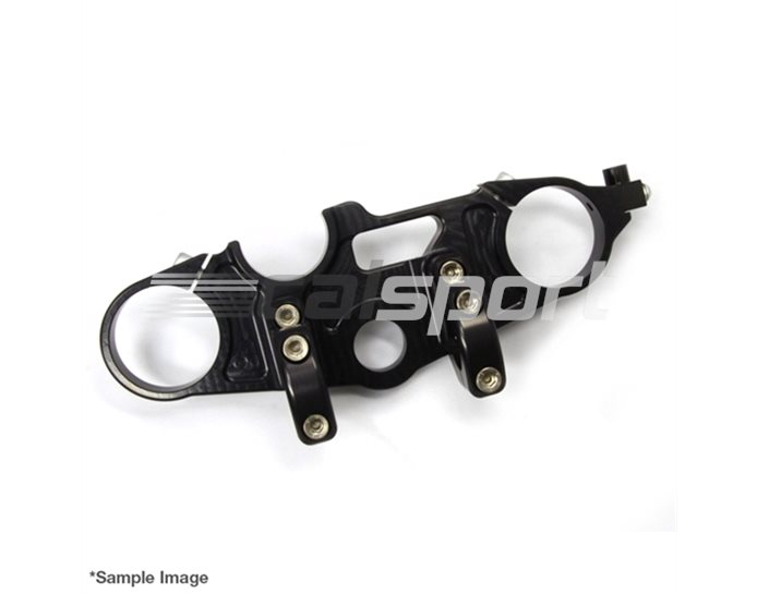 120B028SW - LSL Superbike Conversion, Complete replacement top yoke, Black