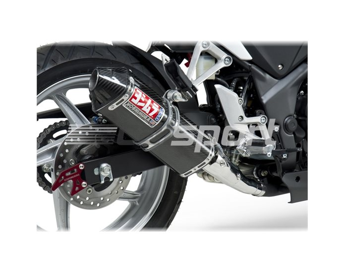 1225027220 - Yoshimura Carbon TRC Slip-On - Carbon Cap - Race (removable Baffle)