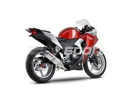 1225027550 - Yoshimura Stainless TRC Slip-On RACE (Removable Baffle)