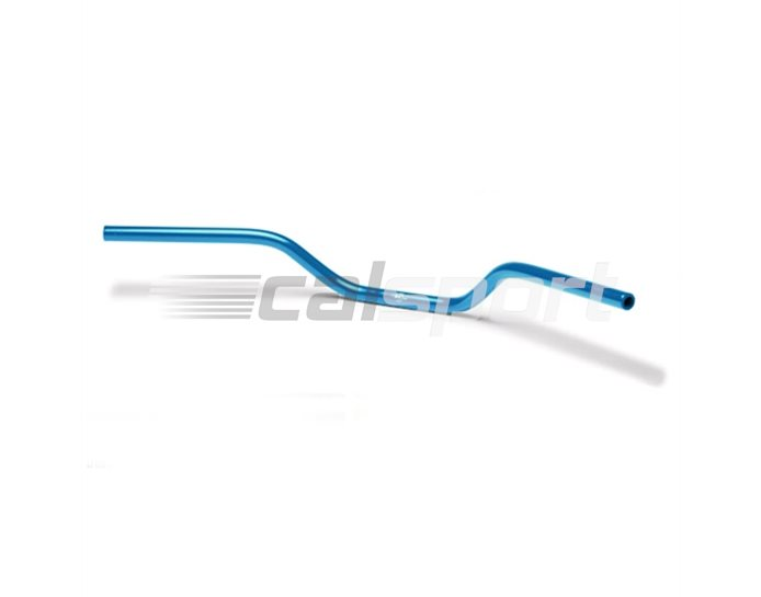 122A002BL - LSL Naked Bike - Transparent Blue 22.2mm aluminium handlebar. Alternative bar for kit.
