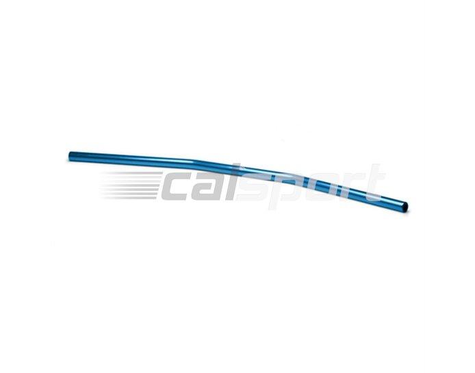 122AD02BL - LSL Drag Bar Wide - low rise 22.2mm aluminium handlebar, Transparent Blue