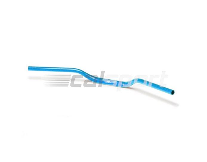 128AX01BL - LSL Superbike - medium rise 28.6mm aluminium taper handlebar (X-Bar), Transparent Blue