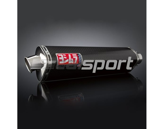 1311262 - Yoshimura Carbon Tri-Oval Slip On RACE (Removable Baffle)