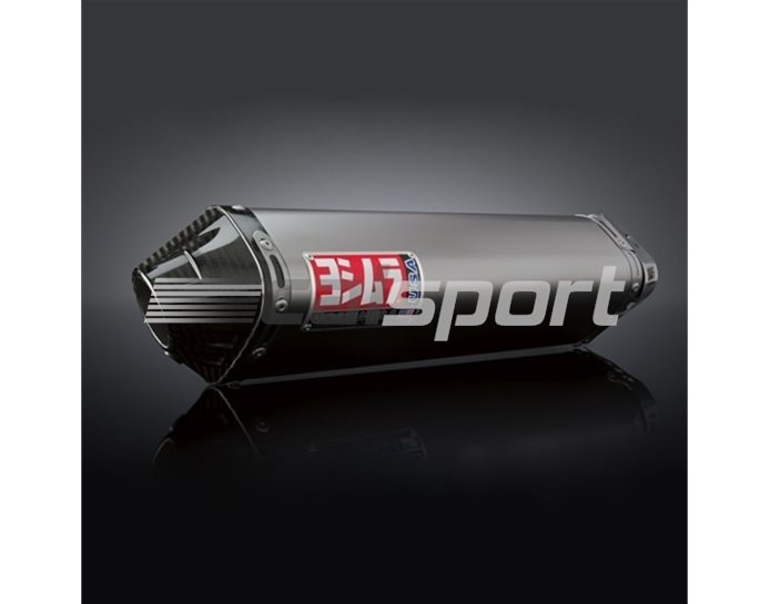 1361077 - Yoshimura Titanium TRC Full System - Stainless Headers - Carbon End Cap RACE (Removable Baffle)