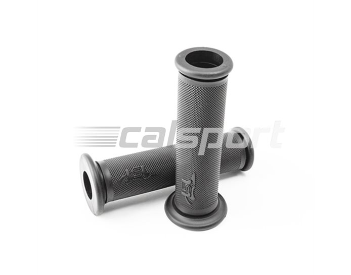 138RL01GR - LSL Sport grips, grey rubber, Soft, 2 lengths available
