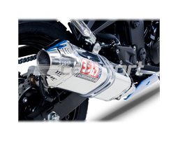 1407075 - Yoshimura Stainless TRC Full System - Stainless Headers - Stainless End Cap RACE (Removable Baffle)