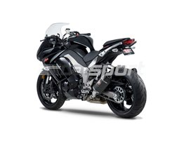 1415020220 - Yoshimura Carbon R77 Slip Ons (pair) With Carbon End Cap - Note - Not Confirmed With Pannier Fitment - Race (Removeable Baffle)