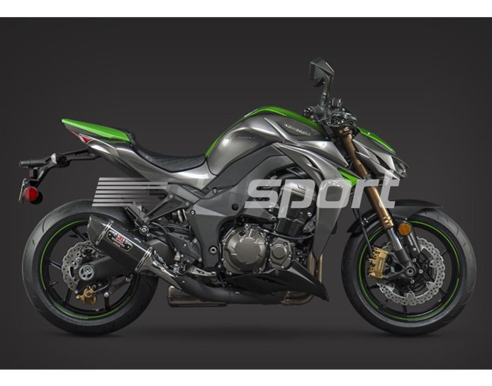 14151E0220 - Yoshimura Carbon R77 Signature Series Pair - Carbon Coned End Caps - Race
