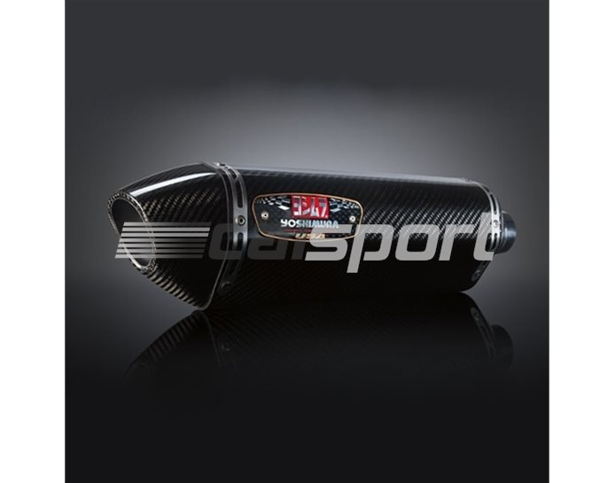 1426202 - Yoshimura Carbon R77 Slip On Pair (Note - Cannot Use Centre Stand) RACE (Removable Baffle)