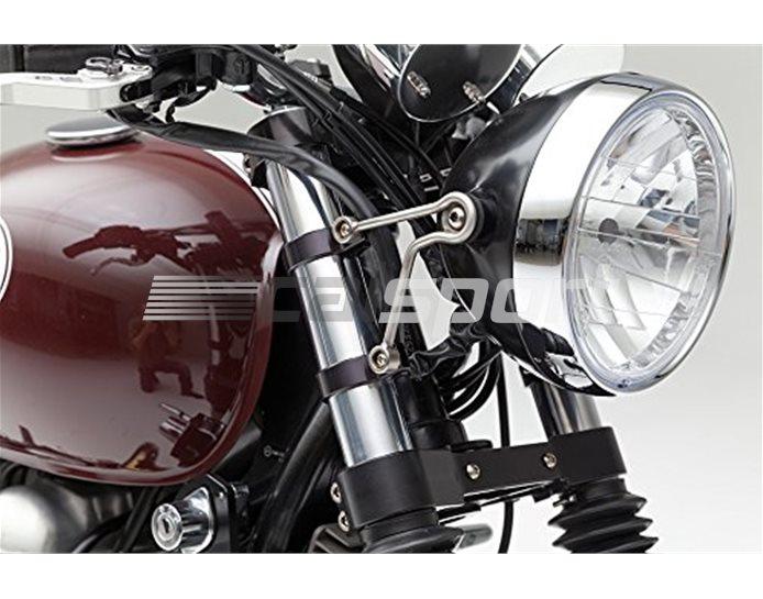 LSL Headlight Bracket, stainless steel, without indicator holes