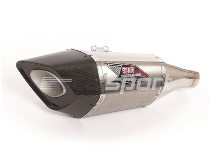 Racing Exhaust System - Stainless 4-2-1 Header With Stainless Steel R-11Sq Silencer (For 107dB Regulation - Includes Exhaust Valve Canceller