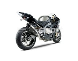 1520100220 - Yoshimura Carbon R77 Full System With Carbon Coned End Cap - Stainless Headers - Race