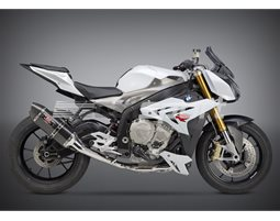 1530000220 - Yoshimura Carbon R77 Full System With Carbon Coned End Cap - Stainless Headers RACE