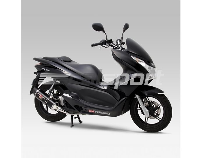 180-49B-5120 - Yoshimura Metal Magic R77S Full System With Carbon Coned End Cap - Yoshimura Japan - Race (removable Baffle)