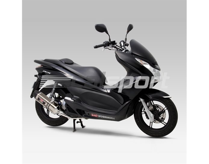 180-49B-5180 - Yoshimura Titanium R77S Full System With Carbon Coned End Cap - Yoshimura Japan - Race (removable Baffle)