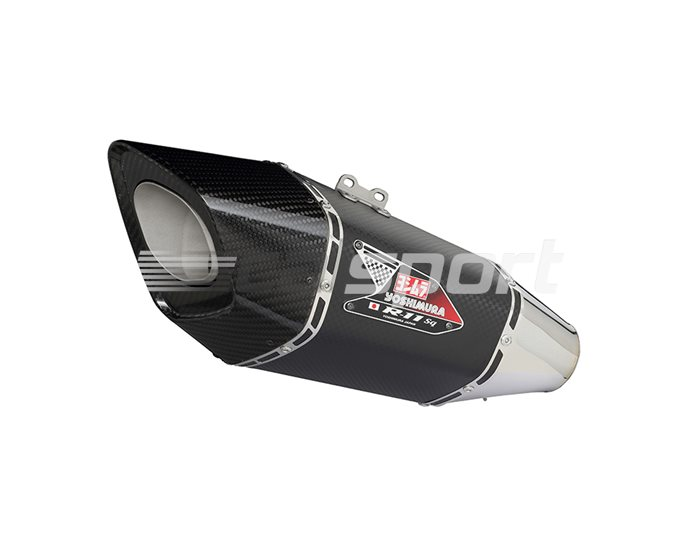 Yoshimura Metal Magic R-11sq Single-Exit Carbon Coned End Cap Full System - Stainless Header - Yoshimura Japan - Race (removable Baffle)