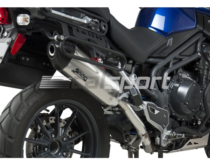 192002D520 - Yoshimura Stainless RS-4 Slip On Silencer - Carbon End Cap - Race (Removable Baffle)