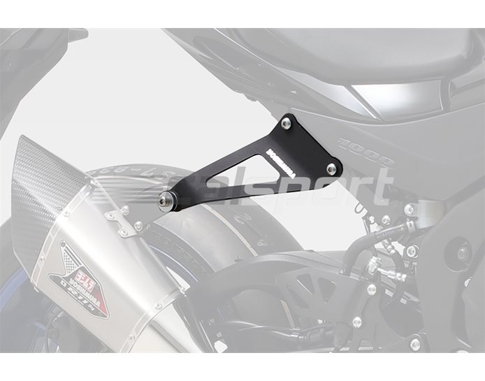 Yoshimura Japan Optional Silencer Bracket (Removes Pillion Footrest) - For use with R-11sq Slip-On or Full System