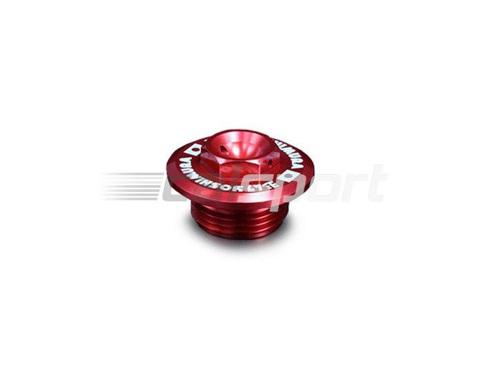 Yoshimura Japan Racing Oil Filler Cap - Anodised Red