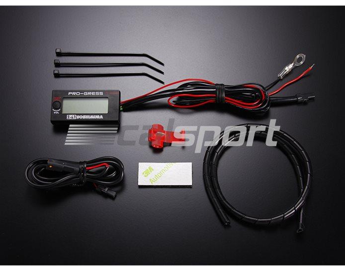 Pro-Gress 1 Digital Gauge - Temp & Voltage