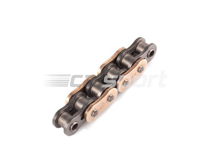 AFAM Premium XS-ring Hyper reinforced, 525, Gold -  110 links (orig len) for sprockets 15/36 16/36, other lengths available