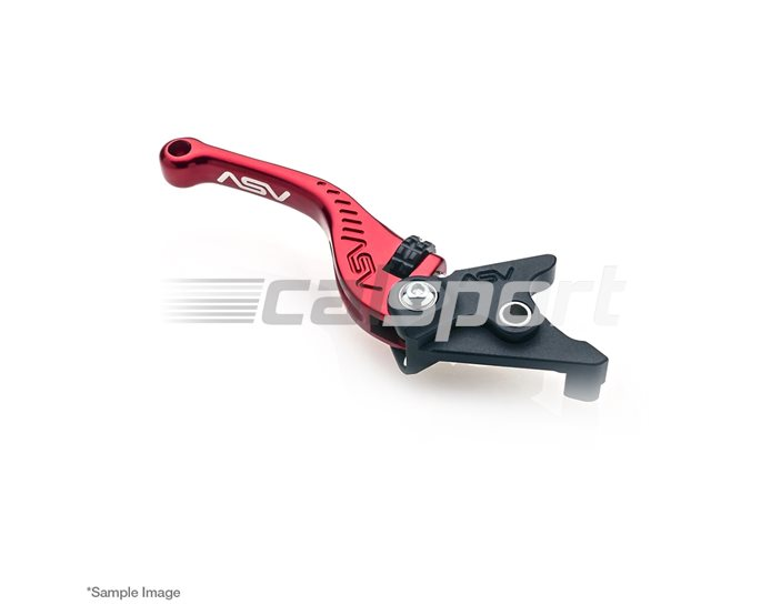 ASV F3 Brake Lever, Short, Red (other colours available)
