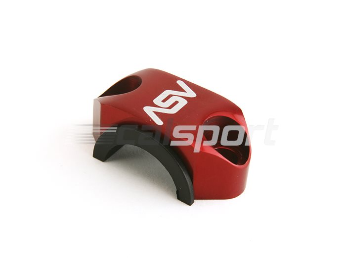 RCU01-RED - ASV Rotator Clamp For Brake or Clutch Master Cylinder Perch, Red (other colours available)