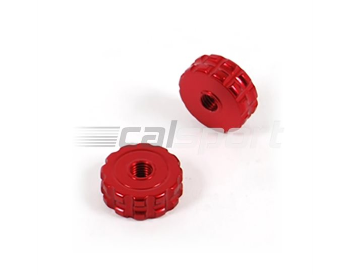 ASV Thumb Wheel Adjuster Roller - Pair, Red (other colours available)