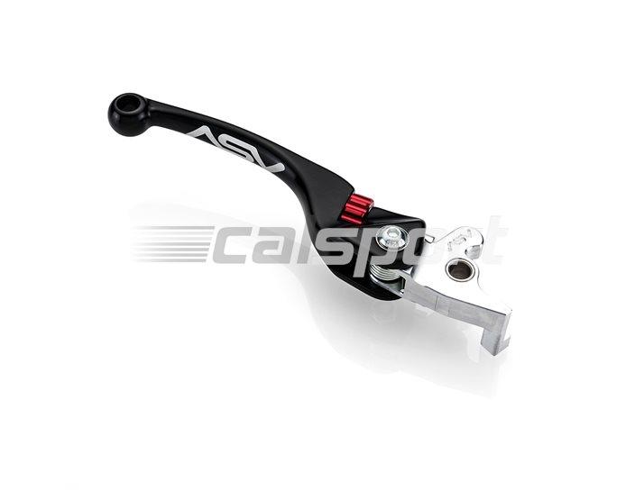 ASV F4 Forged MX Unbreakable Brake Lever, Black - Brembo