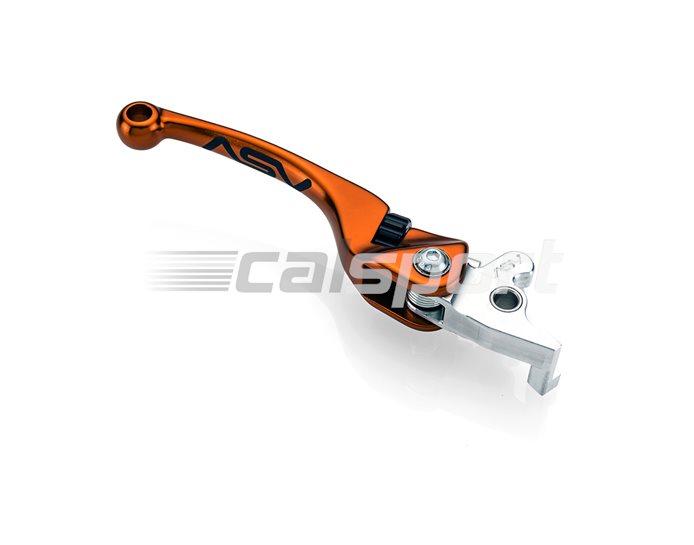 ASV F4 Forged MX Unbreakable Brake Lever, Orange - Brembo