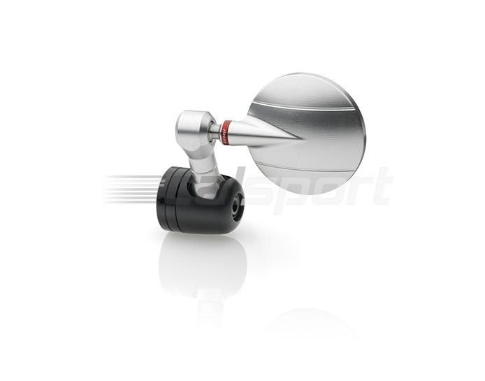 Rizoma Spy-R Mirror, Euro4  Silver, other colours available - Sold individually. Mirror adapter LP200B or LPR200B required.