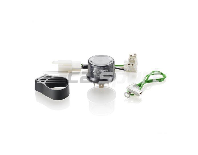 Rizoma Electronic Signal Flasher Relay (optional) - Eliminates the need to use individual resistors.