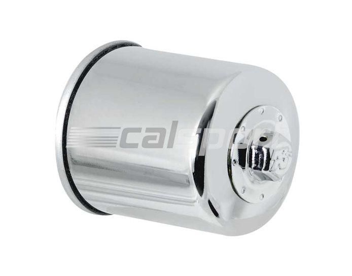 K&N Performance Oil Filter, Chrome