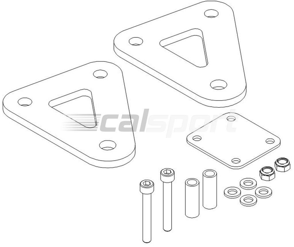 Hyperpro Lowering Kit 50mm Hyperpro Suspension Suspension