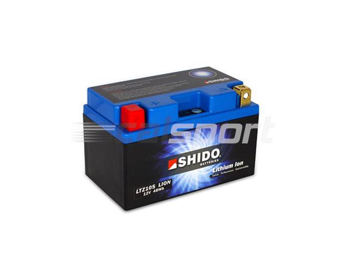 Shido Lightweight Lithium Battery Replaces YTZ10S-BS