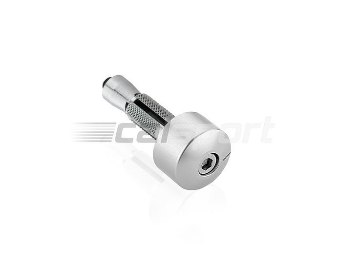 PRO Rizoma Clamp-on Bar-end Mirror Adapter, Silver, other colours available - to fit clamp-on bar-end mirrors, 1 required per mirror. One piece a